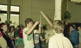1985-•  Kwantlen College Technology Centre hosts first annual TechOlympics