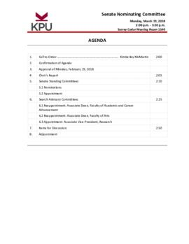 2018 03 19 SNC Agenda package