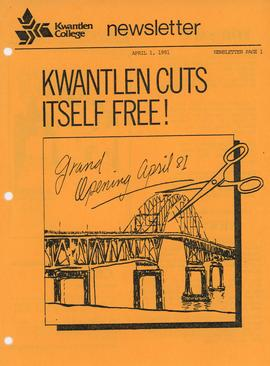 Newsletter - Kwantlen Cuts Itself Free