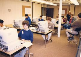 Students in Classroom with Computers
