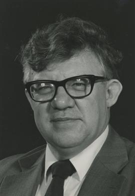 First Kwantlen President Tony Wilkinson (April 1981 to June 1986).