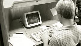 1983 - Tech Campus Computer Lab